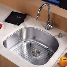 <strong>Kraus</strong> Undermount Single Bowl Kitchen Sink