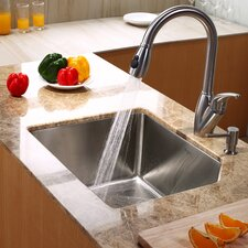 "23"" x 18"" x 10"" Undermount Kitchen Sink"