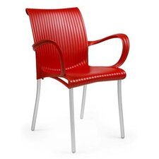Verona Arm Chair in Red