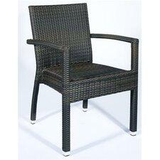 Santiago Arm Chair in Choc Coffee