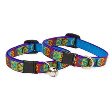 "Peace Pup 1/2"" Adjustable Cat Safety Collar"