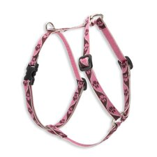Tickled Pink Adjustable Roman Harness