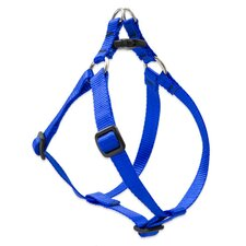 "Solid Color 1/2"" Adjustable Small Dog Step-In Harness"