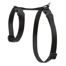 "Solid Color 1/2"" Adjustable H-Style Cat Harness"