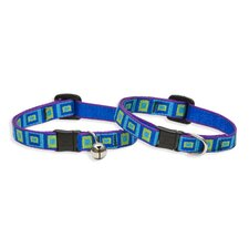 "Sea Glass 1/2"" Adjustable Cat Safety Collar"