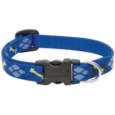 Adjustable Dapper Dog Design Dog Collar