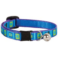 Sea Glass Design Safety Cat Collar