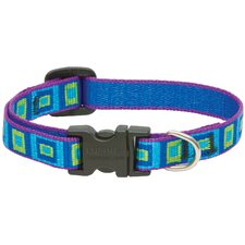 Adjustable Sea Glass Design Dog Collar
