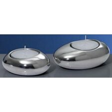 Tantalyn Stainless Steel Votives (Set of 2)