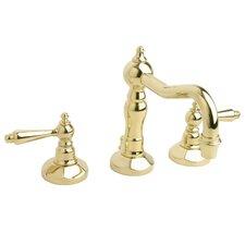 Esaro Widespread Bathroom Faucet with Double Lever Handles
