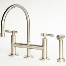 Dolo Bridge Kitchen Faucet with Spray