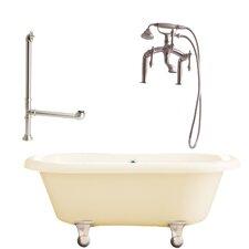 """Portsmouth 60"""" x 31"""" Dual Bathtub"""