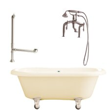 "Portsmouth 60"" x 31"" Dual Bathtub"