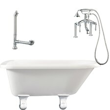 "Brighton 60"" x 30"" Roll Top Bathtub"