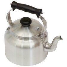 Traditional Aluminum Ground Base Kettle in Satin