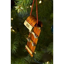 Mountain Boggan Ornament