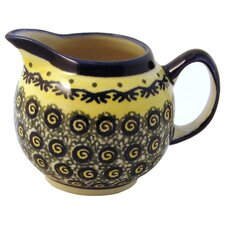 <strong>Euroquest Imports Polish Pottery</strong> 8 oz. Creamer