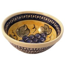 <strong>Euroquest Imports Polish Pottery</strong> 16 oz. Soup / Cereal Bowl