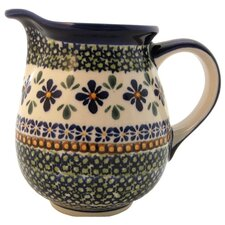 <strong>Euroquest Imports Polish Pottery</strong> 28 oz Pitcher - Pattern DU60