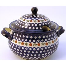 <strong>Euroquest Imports Polish Pottery</strong> 3 Qt Tureen with Cover