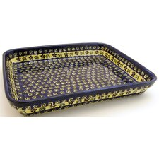 "13"" Rectangular Baking Pan - Pattern 175A"