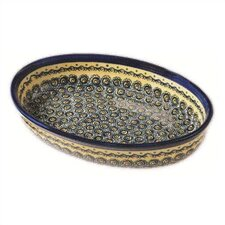 "11"" Oval Baking Pan"