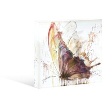 Natural Feel Brown Butterfly Canvas