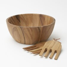 Acacia 3 Piece Salad Serving Set