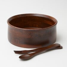 <strong>Woodard & Charles</strong> 3 Piece Salad Serving Set