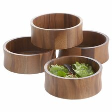 Acacia Salad Bowl (Set of 4)