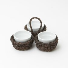 Abaca Condiment Set
