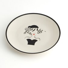 "Meet the Ladies 8"" Dessert Plate (Set of 4)"