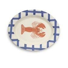 """Lobster 15"""" Round Platter"""