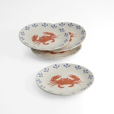 "Crab 8"" Plate (Set of 4)"