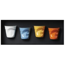 Froisses Giftboxed Crumple Tumbler (Set of 4)