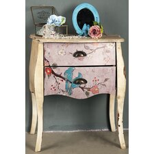 Love Birds Painted Dresser