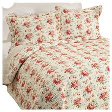 Bramwell Cotton Reversible Quilt Set