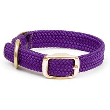 Double Braid Junior Collar in Purple