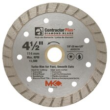 "4-1/2"" Contractor Plus™ Diamond Blade  166999"