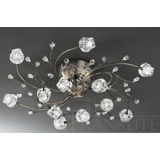 Podette 12 Light Semi Flush Light