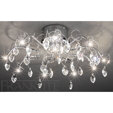 Chantilly 10 Light Semi Flush Light