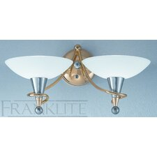 <strong>Franklite</strong> Asti 2 Light Flush Light