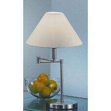 1 Light Swing Arm Table Lamp