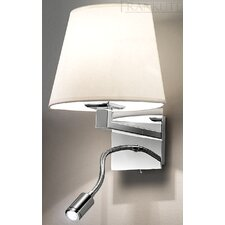 2 Light Wall Lamp with Reading Light