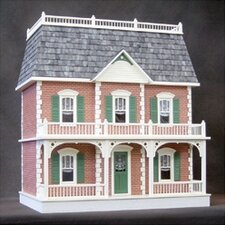 Junior Series  Pre Bricked Georgetown Dollhouse