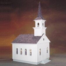 Historical  Country Church Dollhouse