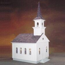 Historical  Country Church Dollhouse