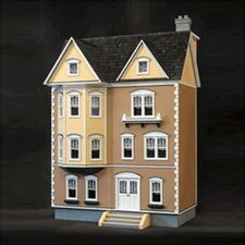 Historical Front Opening East Side Townhouse Dollhouse