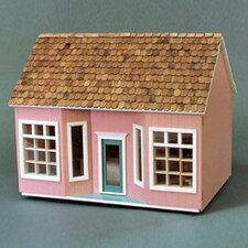 Barn, Stores and Mouse House Front Opening Shoppe Dollhouse