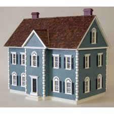 Half-Inch Scale Kits Colonial Thornhill Shell Dollhouse